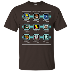 T-Shirts Dark Chocolate / S Mega X-Man T-Shirt