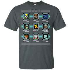 T-Shirts Dark Heather / S Mega X-Man T-Shirt