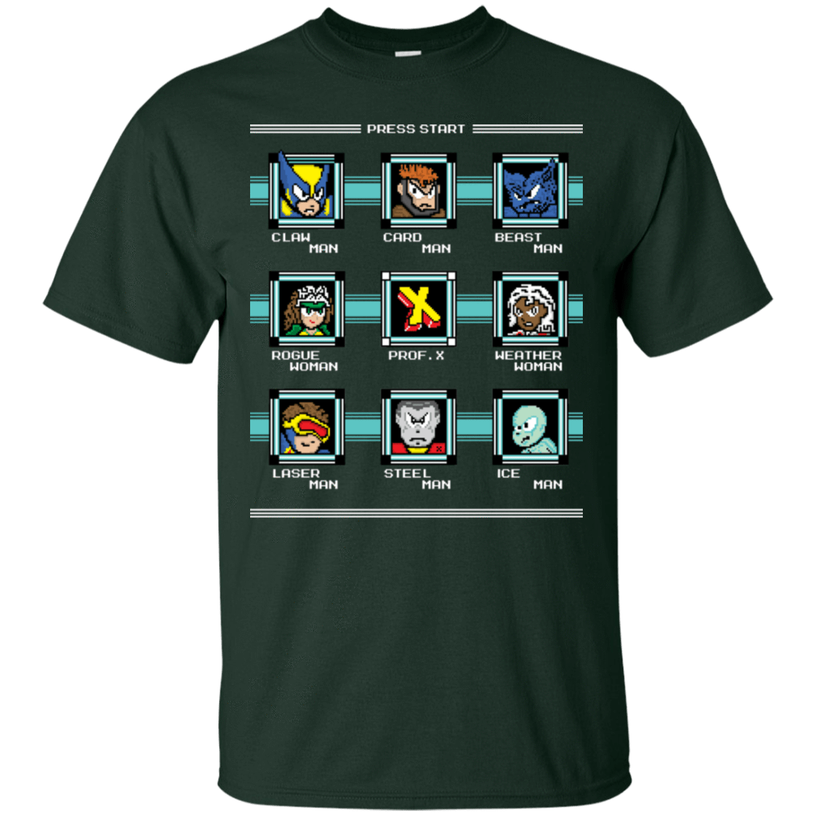 T-Shirts Forest / S Mega X-Man T-Shirt