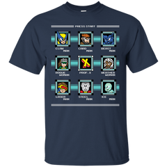 T-Shirts Navy / S Mega X-Man T-Shirt