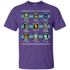 T-Shirts Purple / S Mega X-Man T-Shirt
