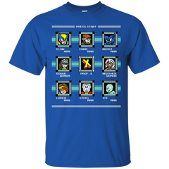 T-Shirts Royal / S Mega X-Man T-Shirt