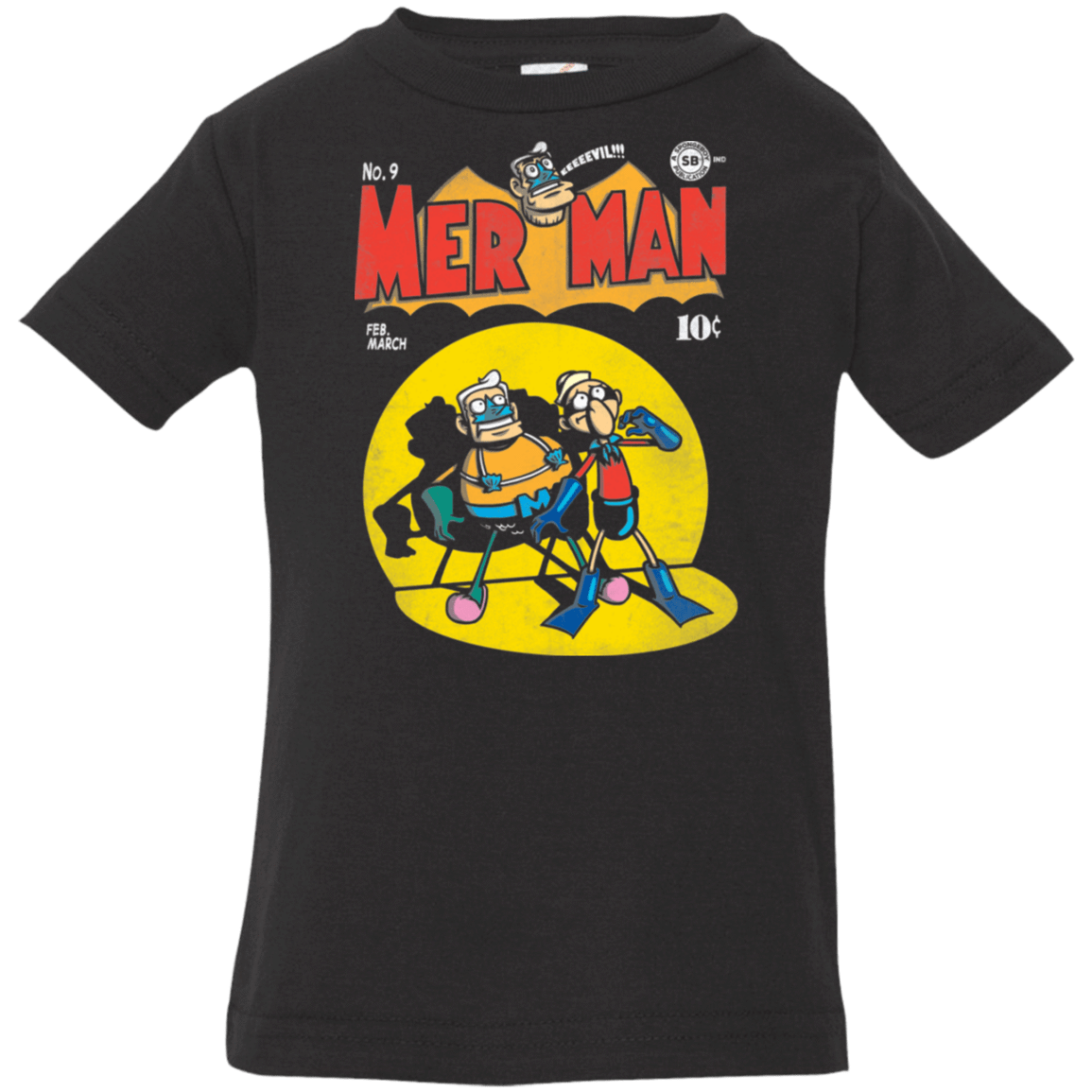 Mer Man Comic Infant Premium T-Shirt