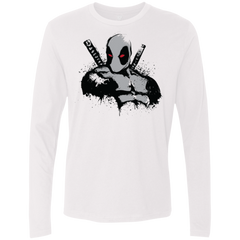 T-Shirts White / Small Merc in Grey X Force Men's Premium Long Sleeve
