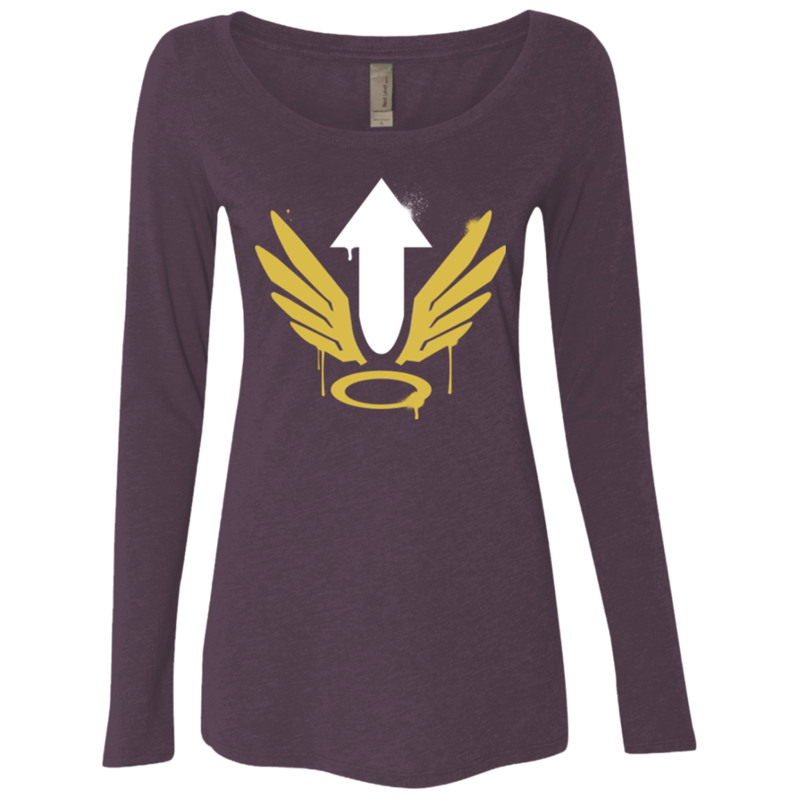 T-Shirts Vintage Purple / Small Mercy Arrow Women's Triblend Long Sleeve Shirt