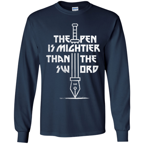 Mighty Pen Youth Long Sleeve T-Shirt