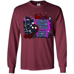 T-Shirts Maroon / YS Miles and Porker Youth Long Sleeve T-Shirt