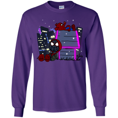 T-Shirts Purple / YS Miles and Porker Youth Long Sleeve T-Shirt