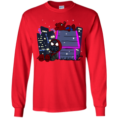 T-Shirts Red / YS Miles and Porker Youth Long Sleeve T-Shirt