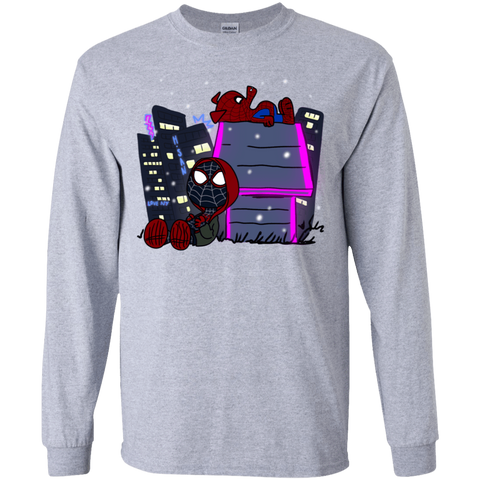 Miles and Porker Youth Long Sleeve T-Shirt