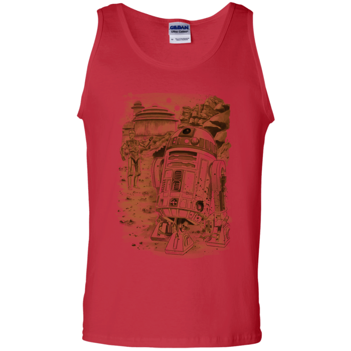 T-Shirts Red / S Mission to jabba palace Men's Tank Top