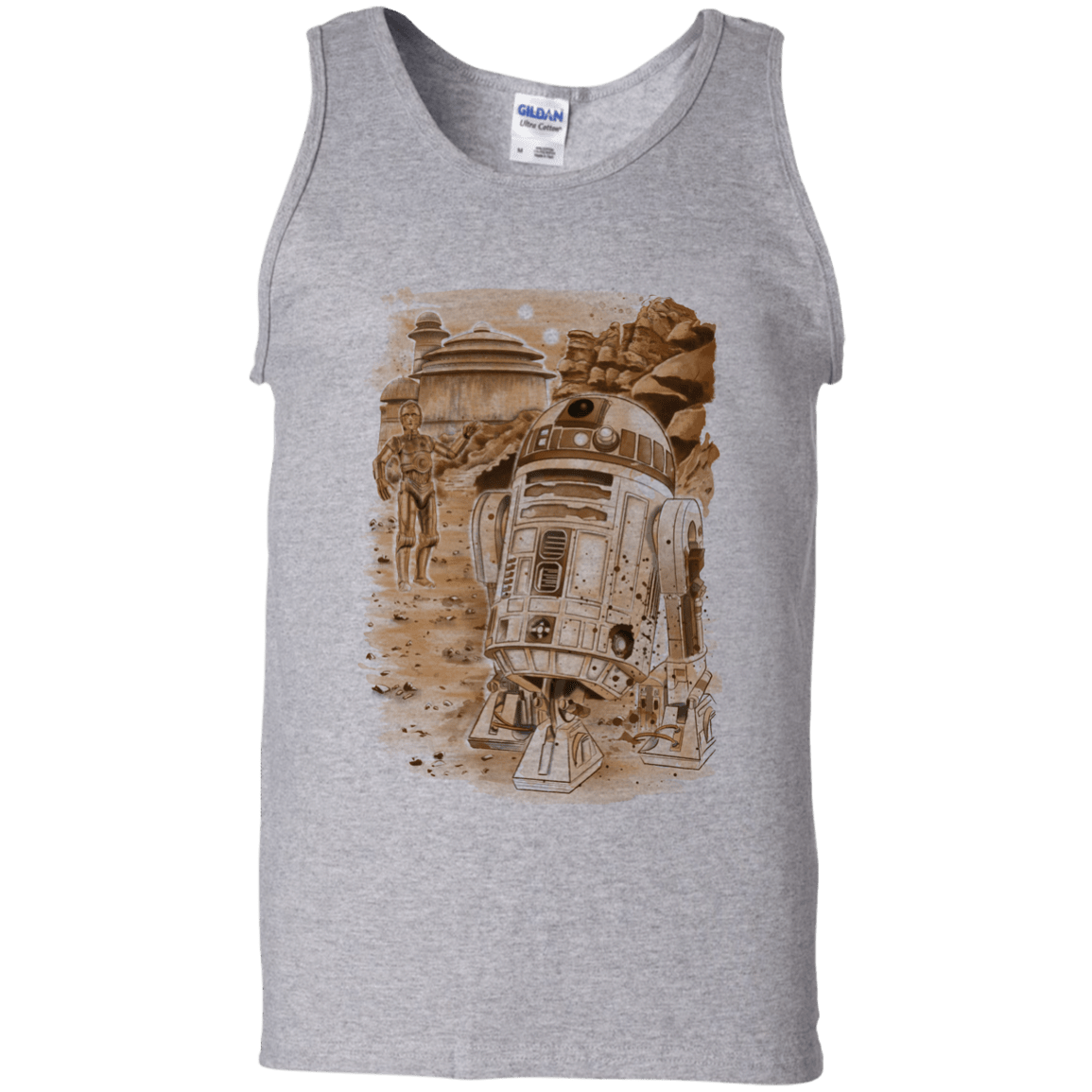 T-Shirts Sport Grey / S Mission to jabba palace Men's Tank Top