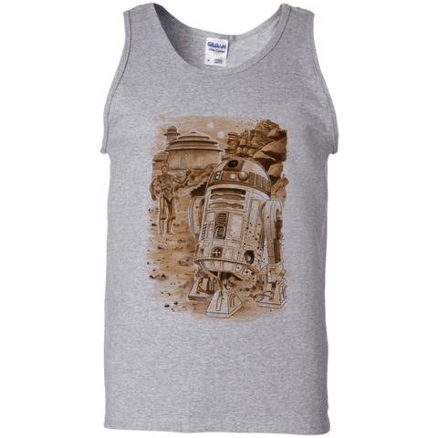 Mission to jabba palace Men's Tank Top