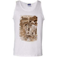 T-Shirts White / S Mission to jabba palace Men's Tank Top