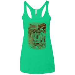 T-Shirts Envy / X-Small Mission to jabba palace Women's Triblend Racerback Tank