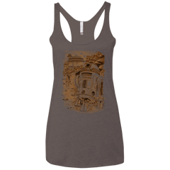 T-Shirts Macchiato / X-Small Mission to jabba palace Women's Triblend Racerback Tank