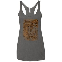 T-Shirts Premium Heather / X-Small Mission to jabba palace Women's Triblend Racerback Tank
