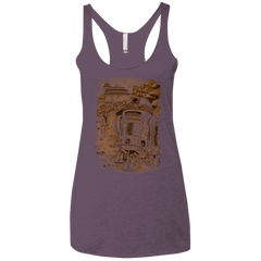 T-Shirts Vintage Purple / X-Small Mission to jabba palace Women's Triblend Racerback Tank