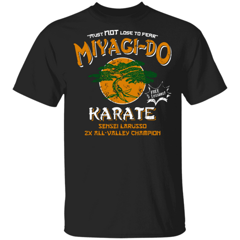 T-Shirts Black / S Miyagi Do Free Lessons T-Shirt