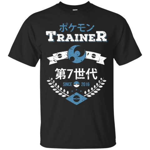 T-Shirts Black / Small Moon Trainer T-Shirt