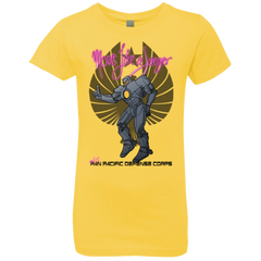 T-Shirts Vibrant Yellow / YXS Moves Like A Jaegger Girls Premium T-Shirt