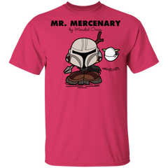 T-Shirts Heliconia / YXS Mr Mercenary Youth T-Shirt