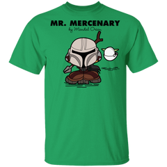 T-Shirts Irish Green / YXS Mr Mercenary Youth T-Shirt