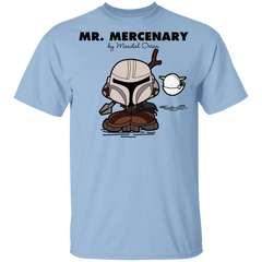 T-Shirts Light Blue / YXS Mr Mercenary Youth T-Shirt