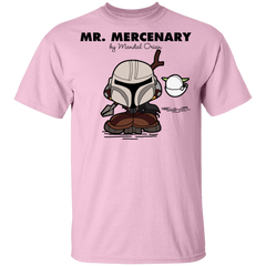 T-Shirts Light Pink / YXS Mr Mercenary Youth T-Shirt