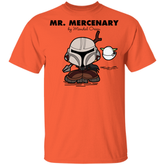 T-Shirts Orange / YXS Mr Mercenary Youth T-Shirt