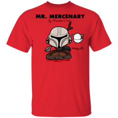 T-Shirts Red / YXS Mr Mercenary Youth T-Shirt