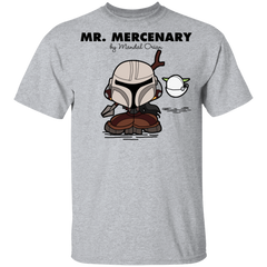 T-Shirts Sport Grey / YXS Mr Mercenary Youth T-Shirt