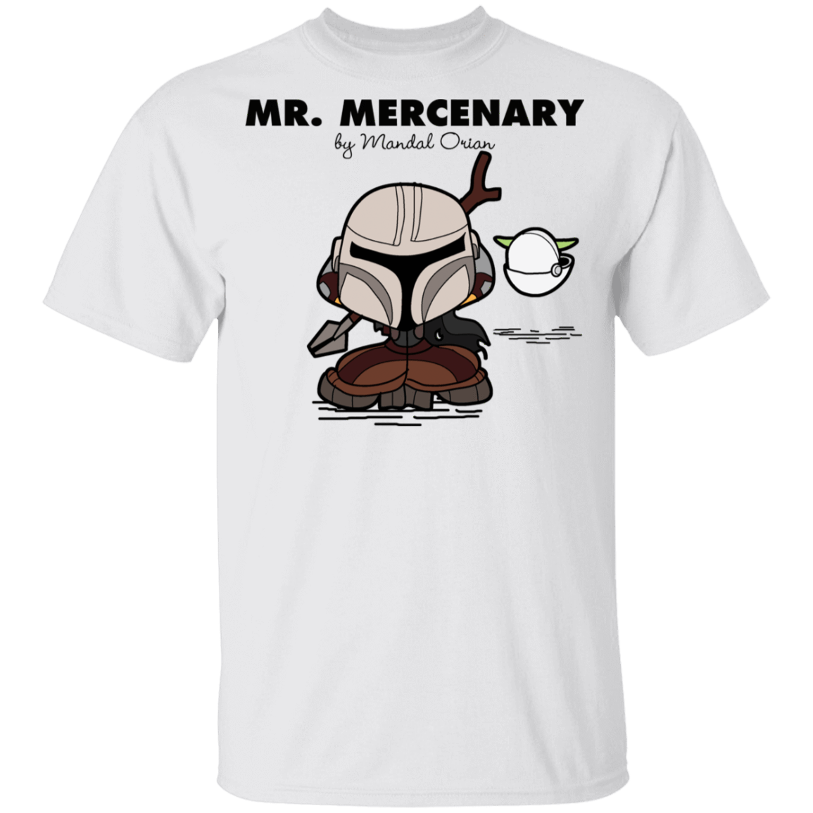 T-Shirts White / YXS Mr Mercenary Youth T-Shirt