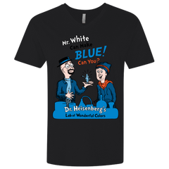 Mr White Men's Premium V-Neck