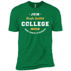T-Shirts Kelly Green / X-Small Muggle Quidditch Men's Premium T-Shirt