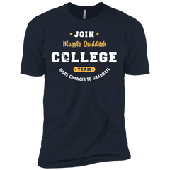 T-Shirts Midnight Navy / X-Small Muggle Quidditch Men's Premium T-Shirt