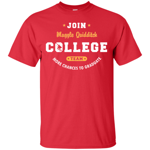 T-Shirts Red / Small Muggle Quidditch T-Shirt