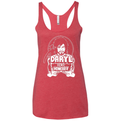 T-Shirts Vintage Red / X-Small My Favorite Redneck Women's Triblend Racerback Tank