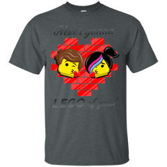 T-Shirts Dark Heather / S Never LEGO of You T-Shirt