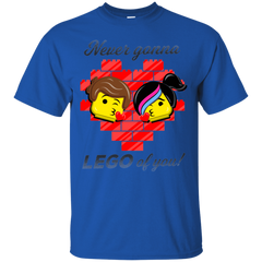 T-Shirts Royal / S Never LEGO of You T-Shirt
