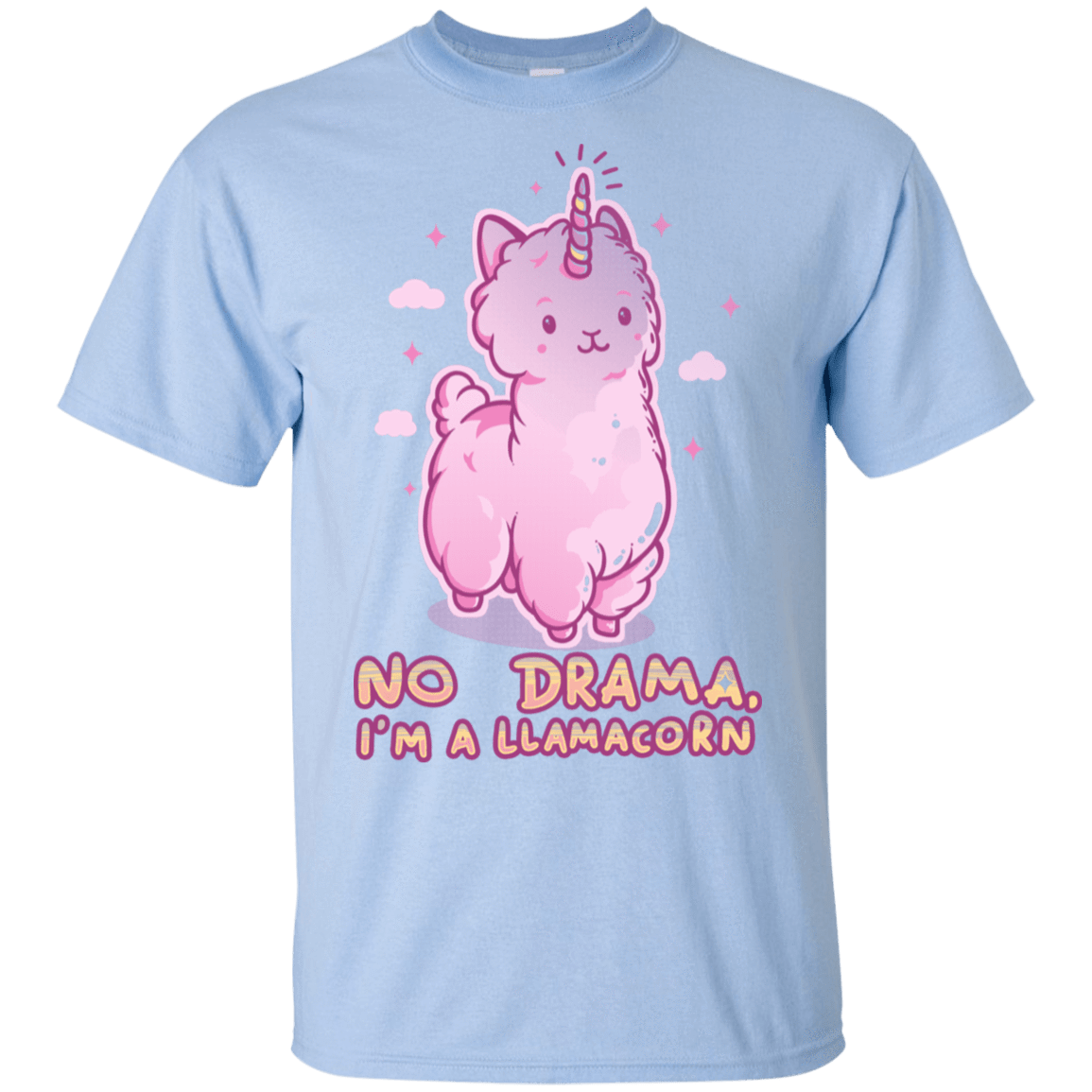 No Drama Llamacorn T-Shirt