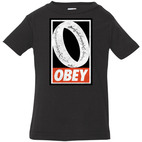 Obey One Ring Infant Premium T-Shirt