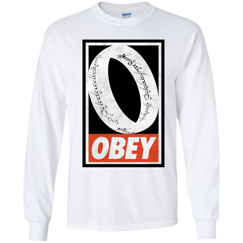 Obey One Ring Youth Long Sleeve T-Shirt