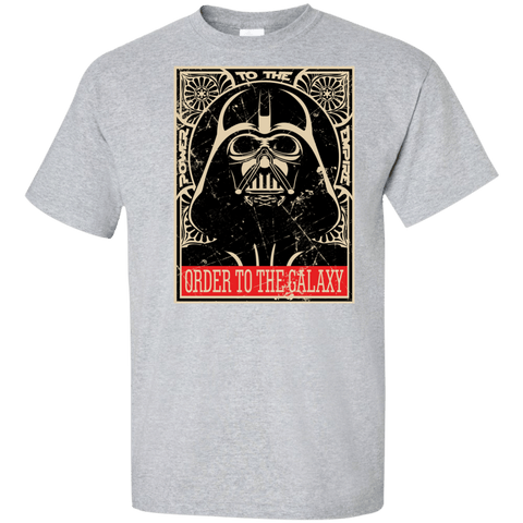 T-Shirts Sport Grey / XLT Order to the galaxy Tall T-Shirt