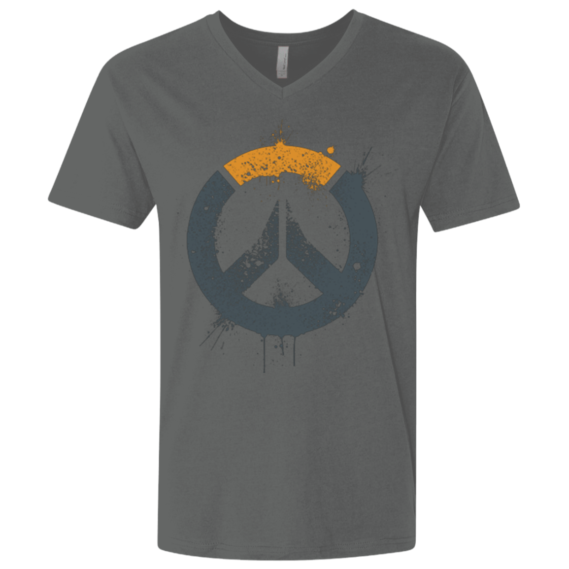 T-Shirts Heavy Metal / X-Small Overwatch Men's Premium V-Neck