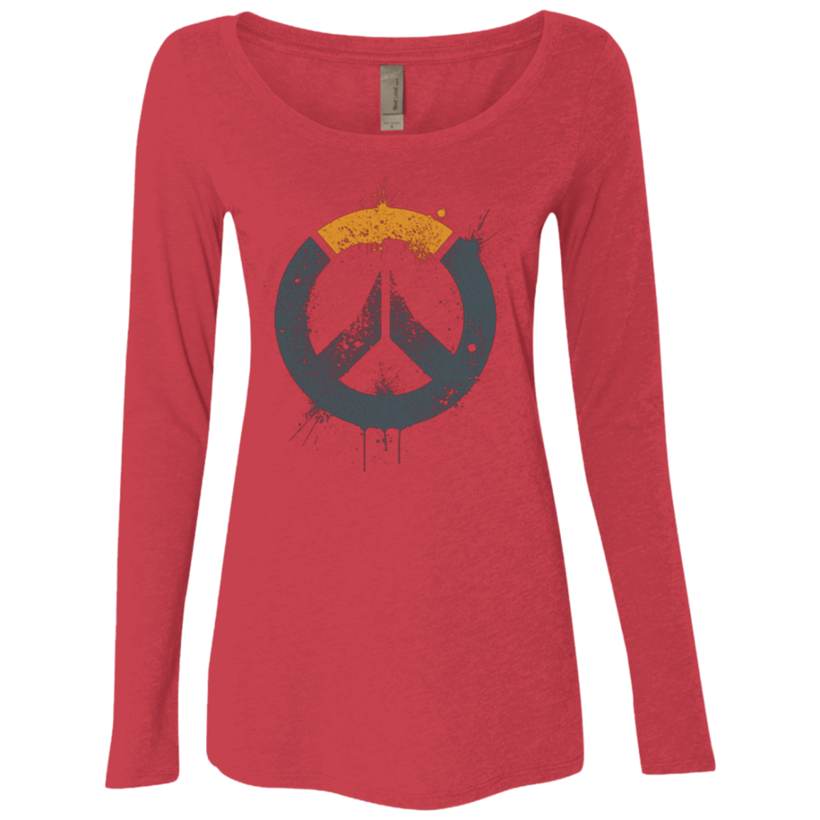 T-Shirts Vintage Red / Small Overwatch Women's Triblend Long Sleeve Shirt