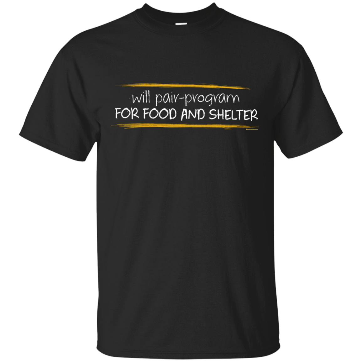 Pair Programming For Food And Shelter T-Shirt