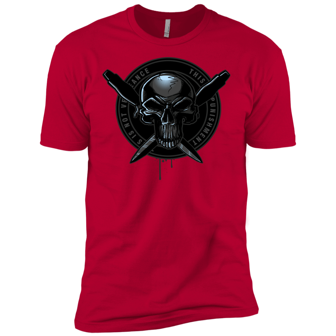 T-Shirts Red / X-Small Pale Rider Men's Premium T-Shirt