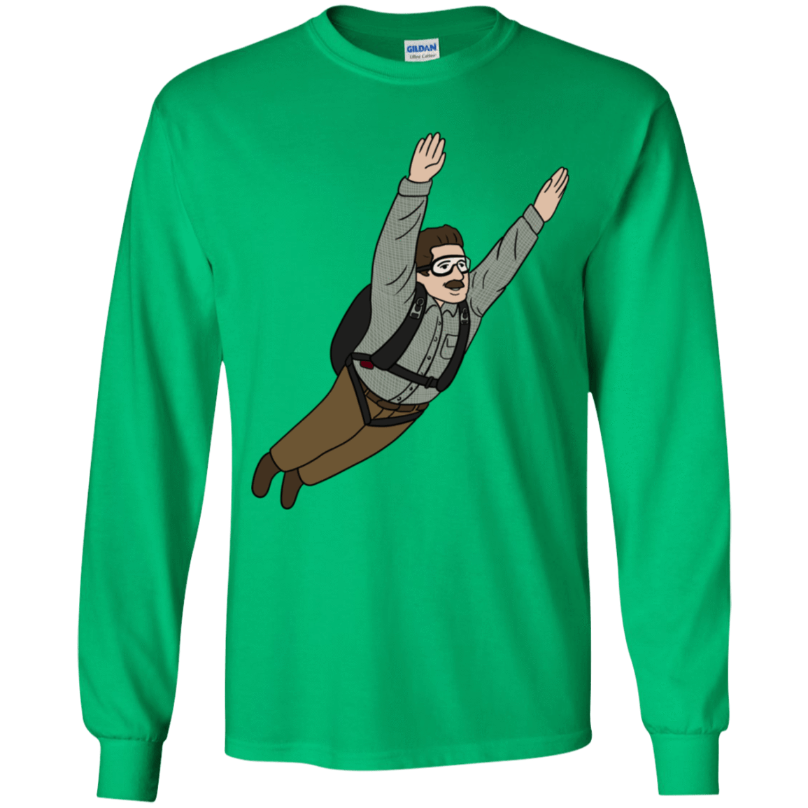T-Shirts Irish Green / YS Peter is my Hero Youth Long Sleeve T-Shirt