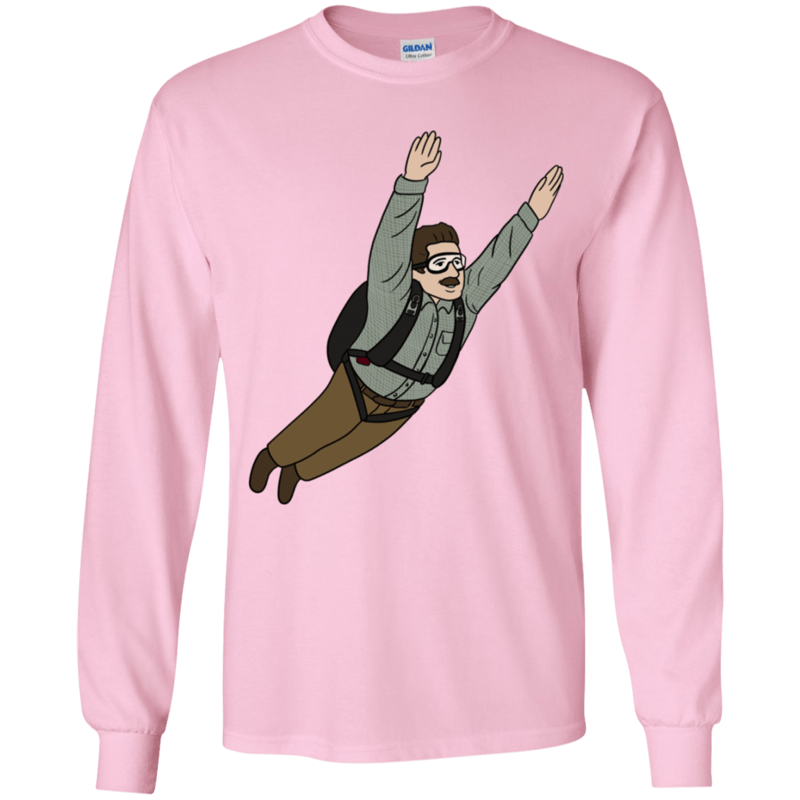 T-Shirts Light Pink / YS Peter is my Hero Youth Long Sleeve T-Shirt